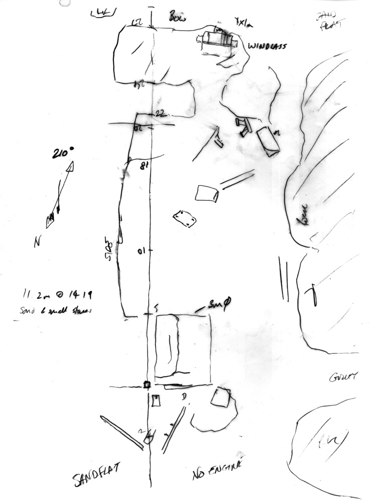 Underwater Sketching